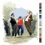 Malování podle čísel Golfová povídky