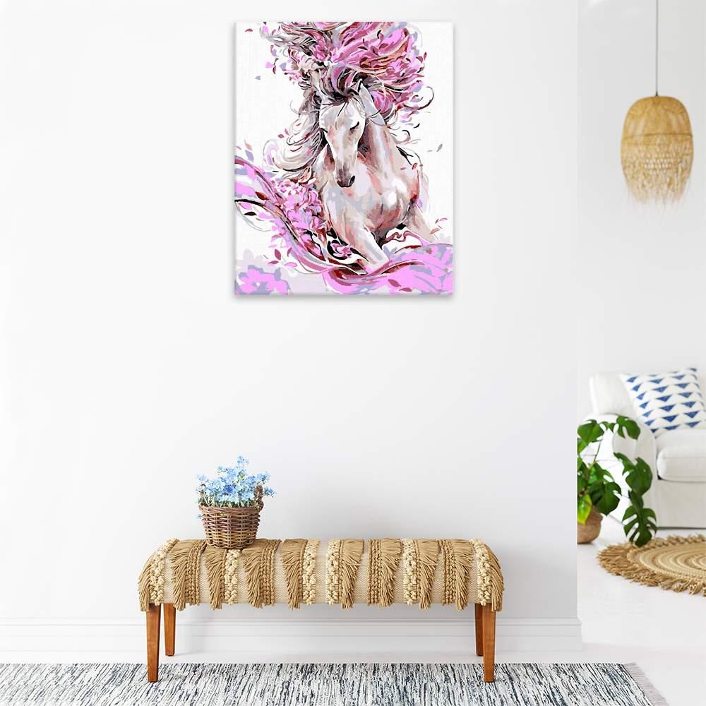 Obraz na zdi Kůň v barvách