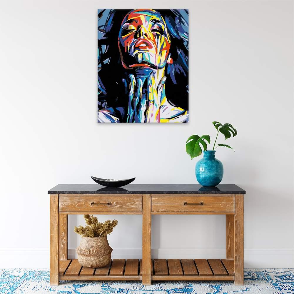Obraz na zdi Abstrakní žena