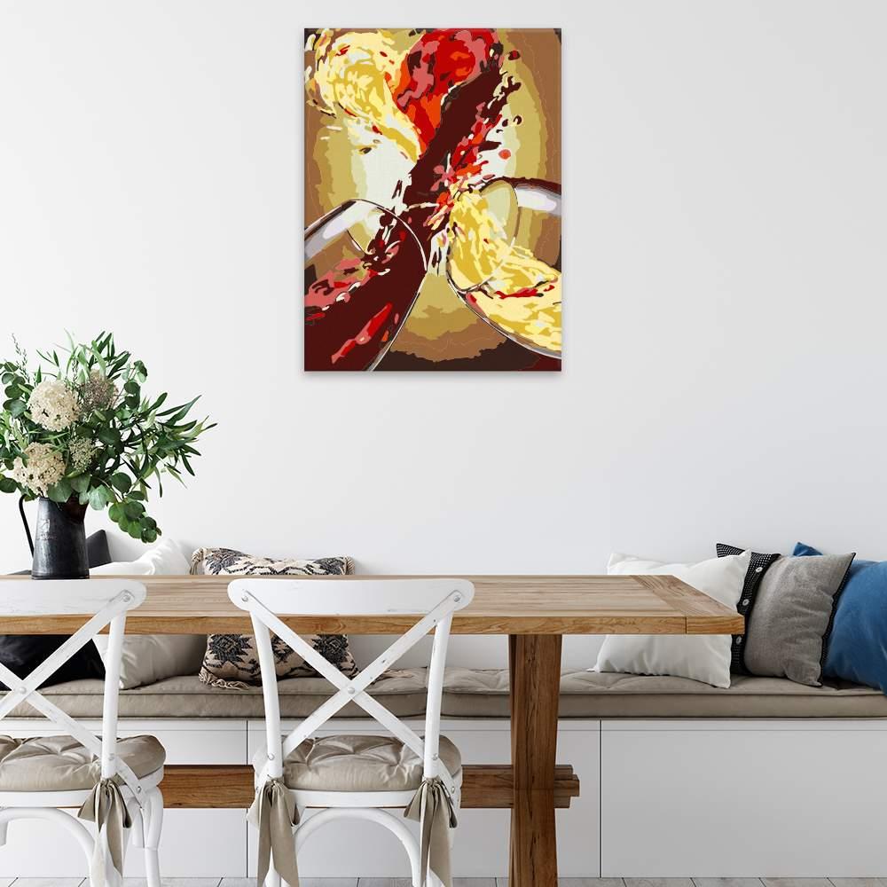 Obraz na zdi Láska ve víně