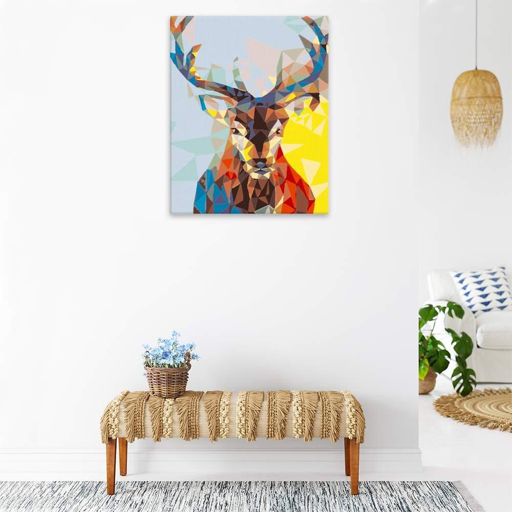 Obraz na zdi Pohled jelena