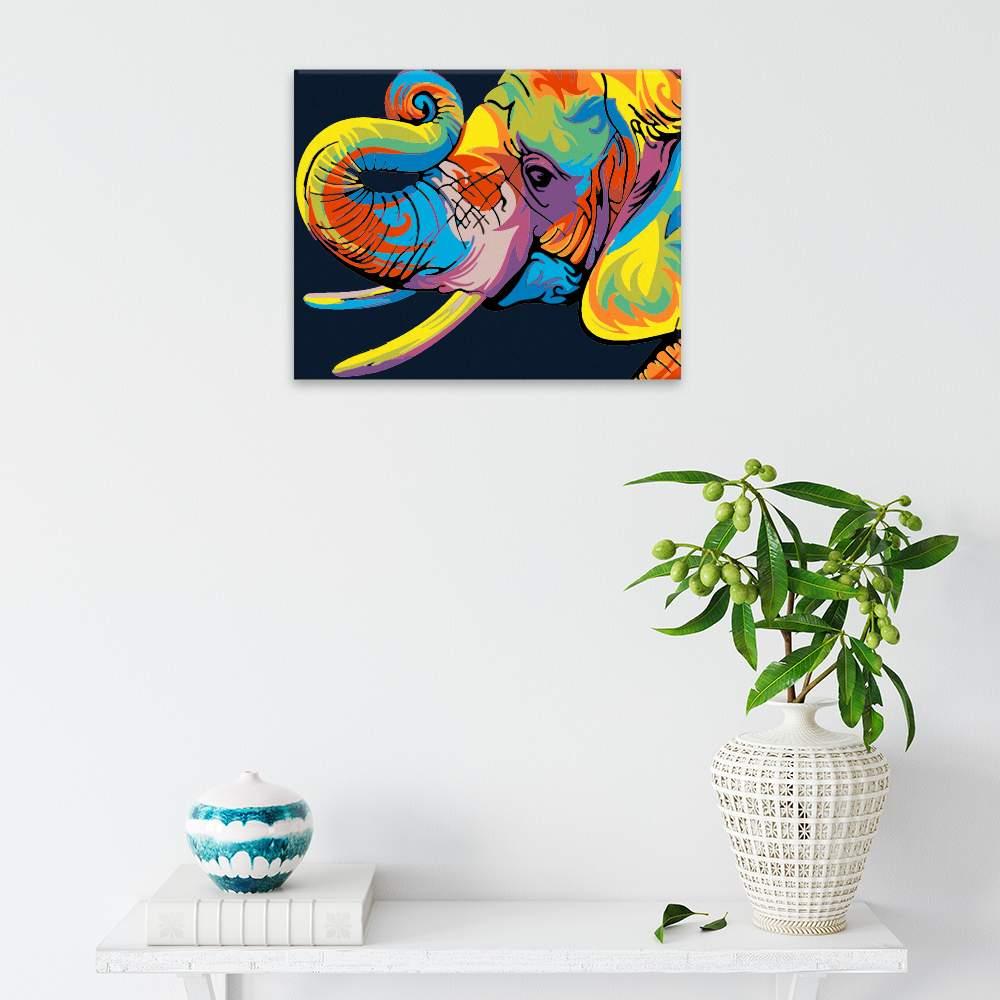 Obraz na zdi Sloní