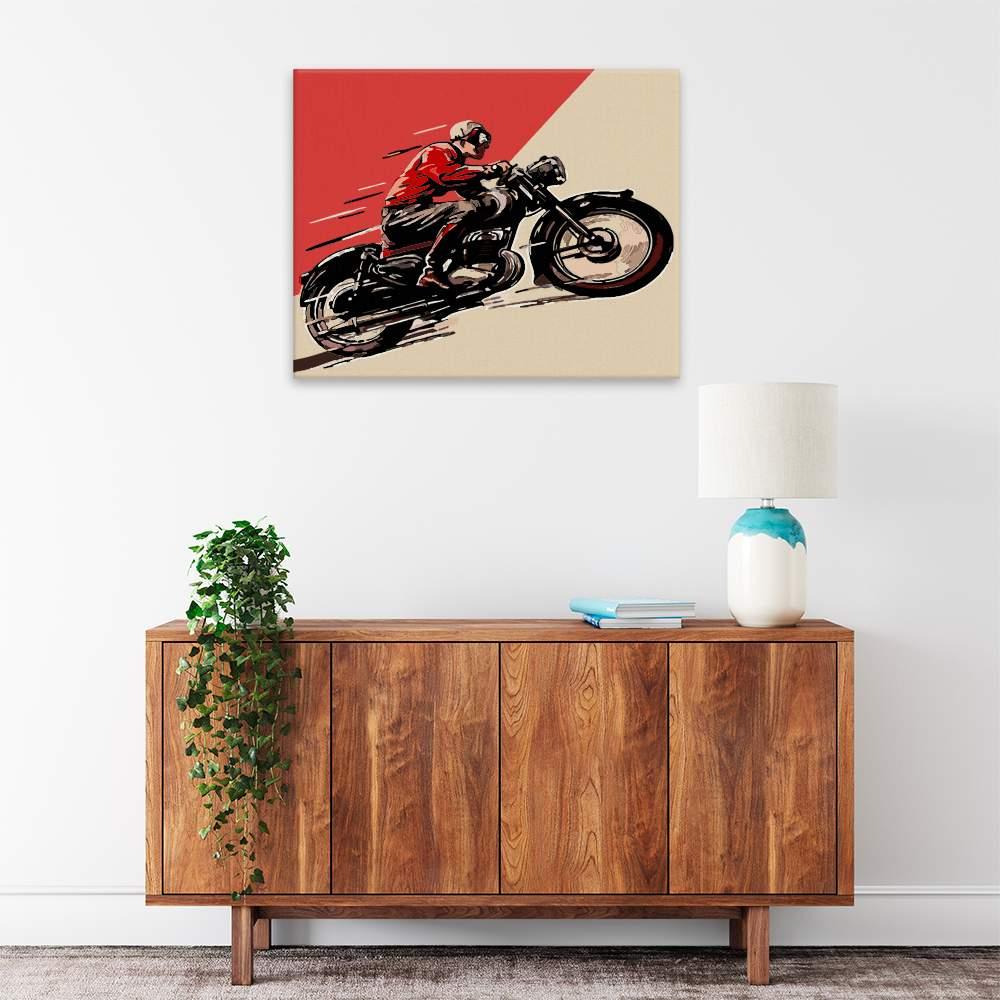 Obraz na zdi Historická motorka