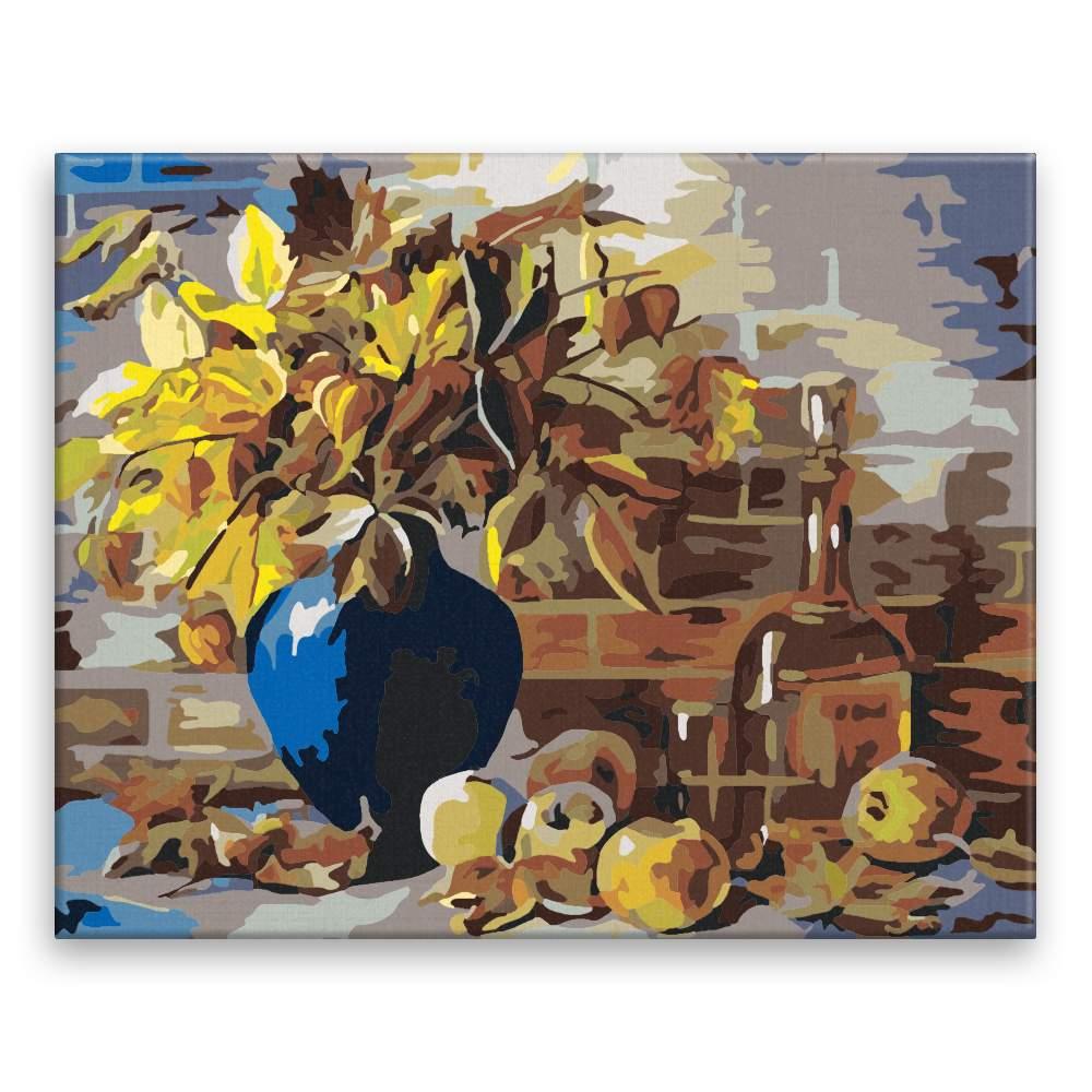 Malování podle čísel Podzimní váza