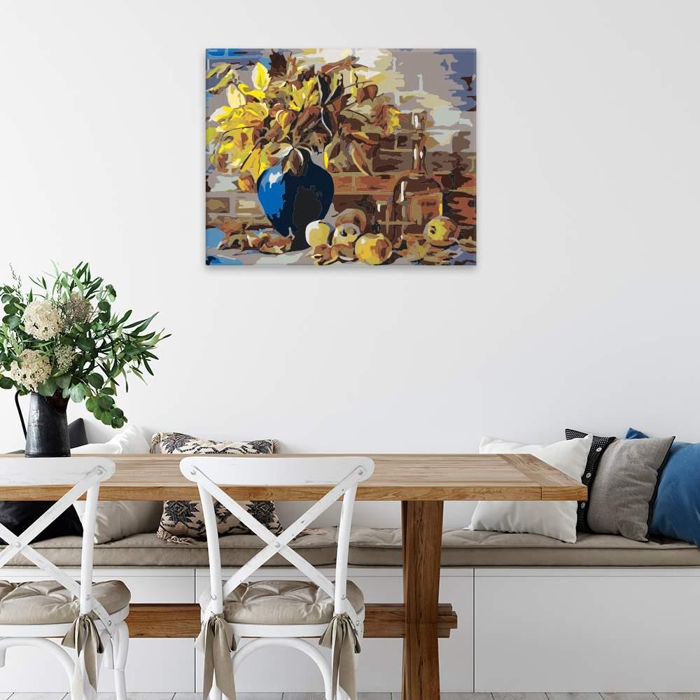 Obraz na zdi Podzimní váza