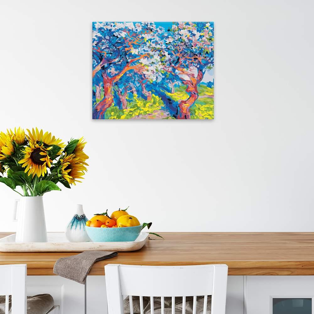 Obraz na zdi Rozkvetlé stromy