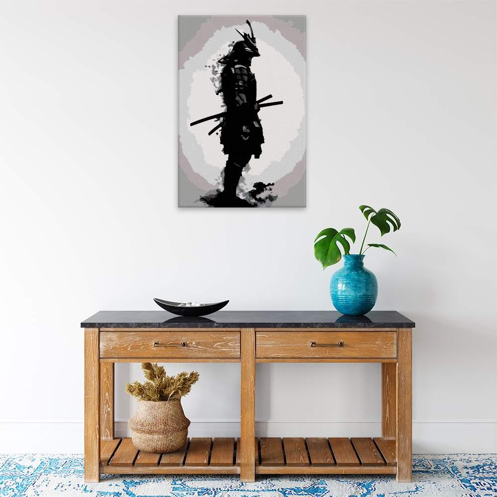 Obraz na zdi Ozbrojený samuraj