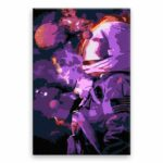 Malování podle čísel Astronout ve hvězdách