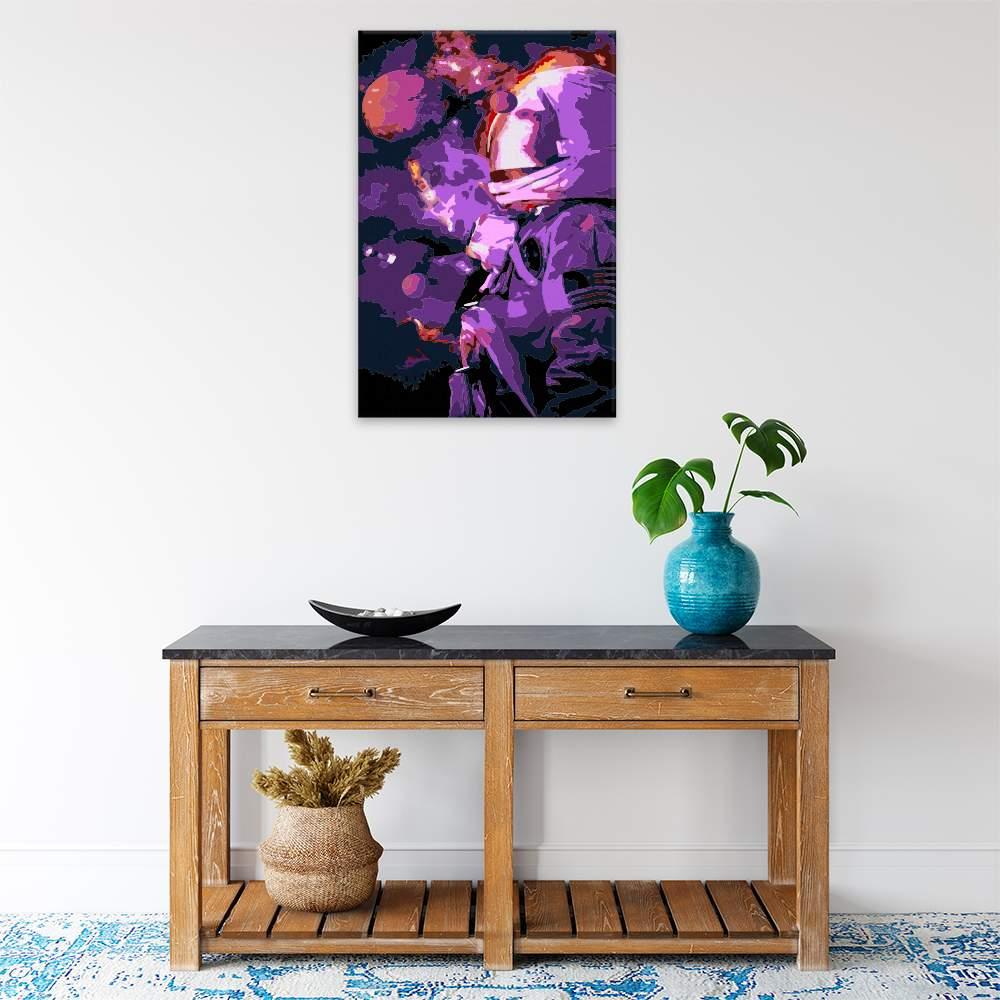 Obraz na zdi Astronout ve hvězdách