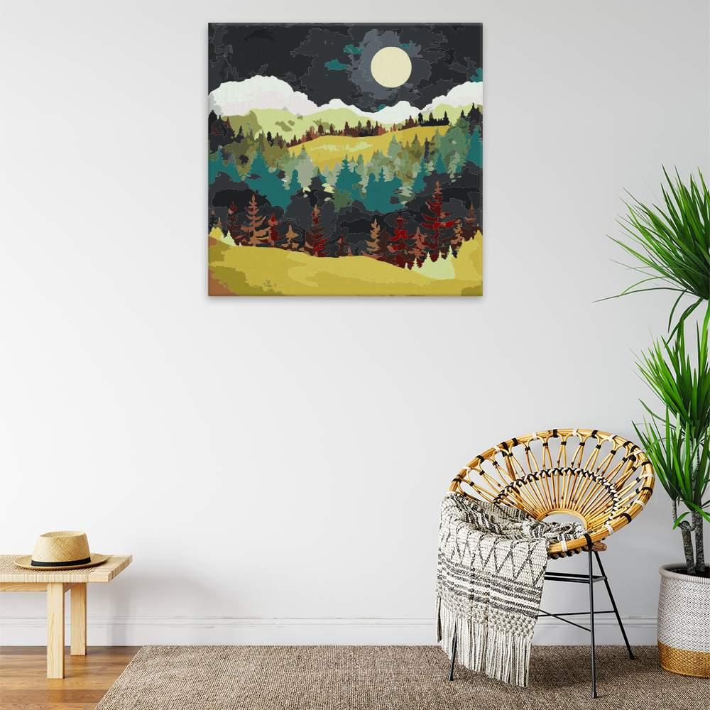 Obraz na zdi Večerní krajina