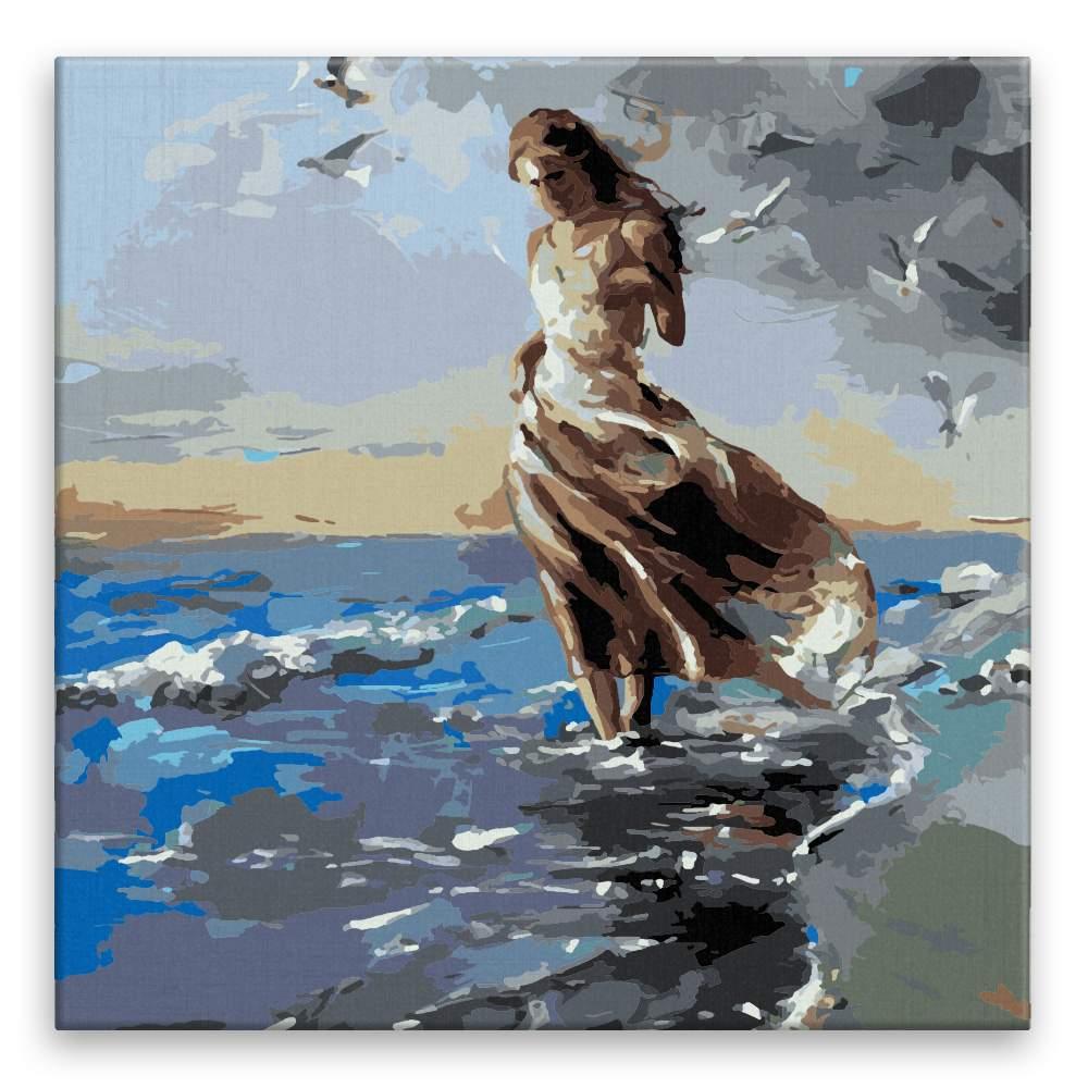 Malování podle čísel Brouzdání v moři