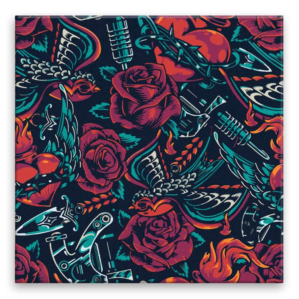 Malování podle čísel Růže rock and roll
