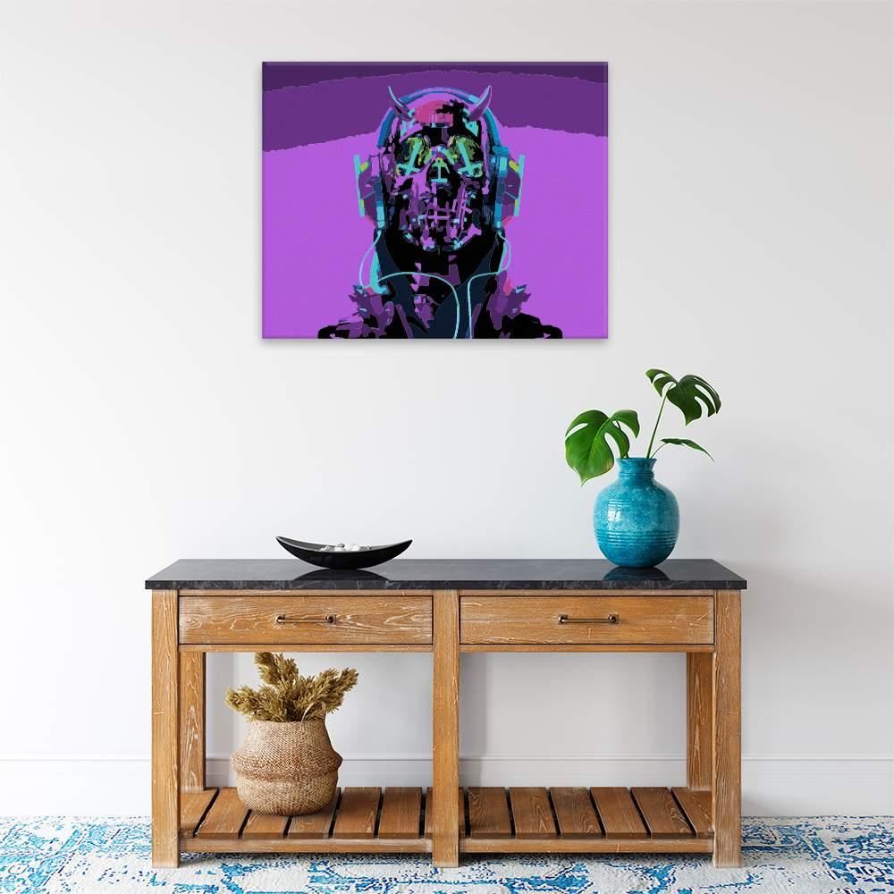 Malování podle čísel Robo muž