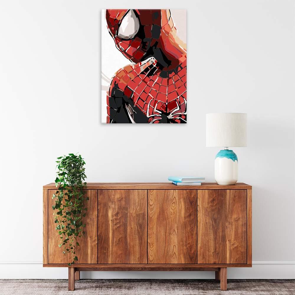 Malování podle čísel Spider man
