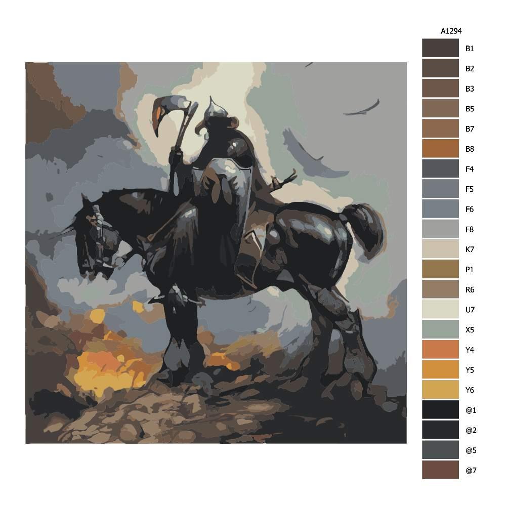 Malování podle čísel Obchodník se smrtí