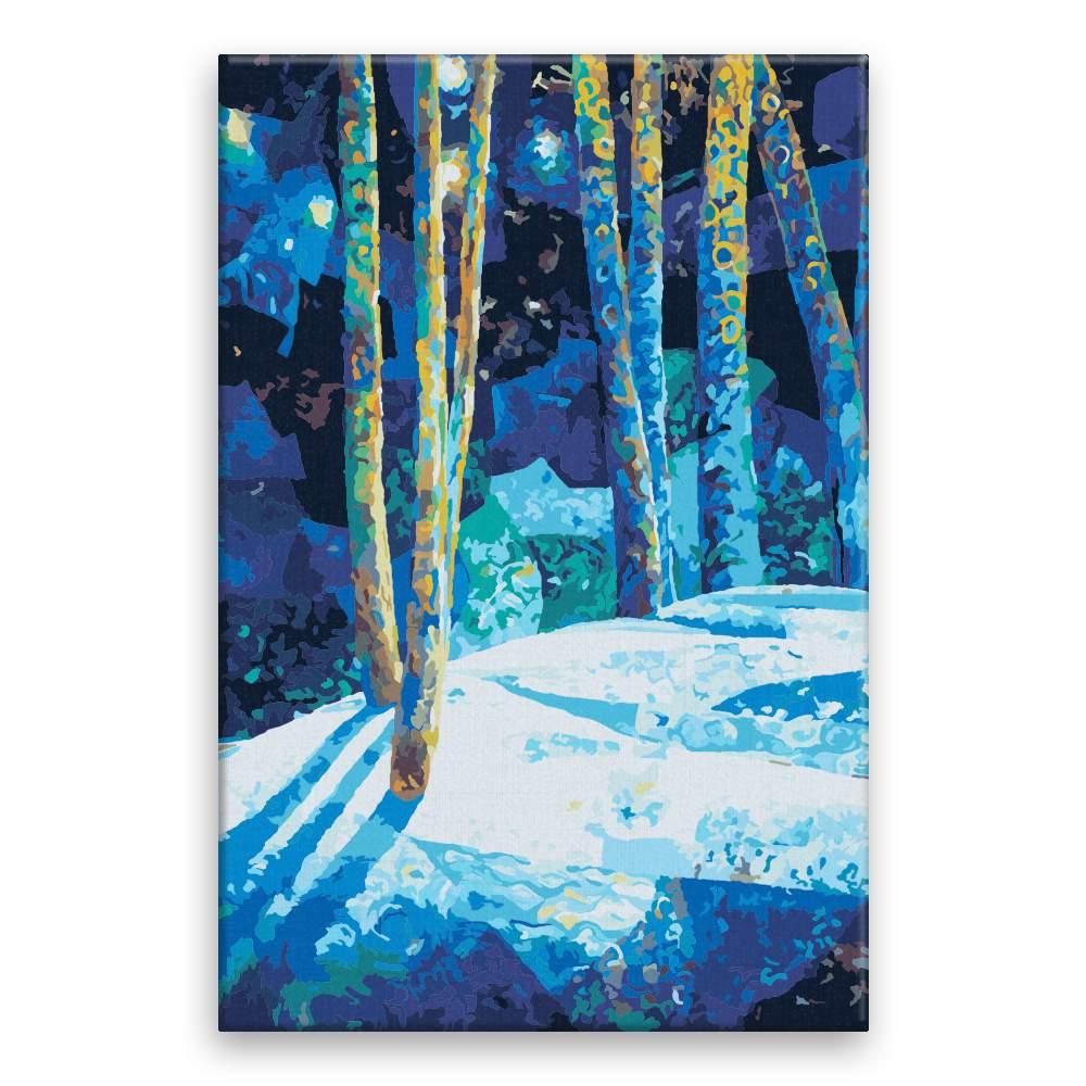 Malování podle čísel Kouzelný les
