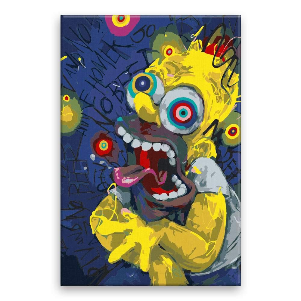 Malování podle čísel Homer