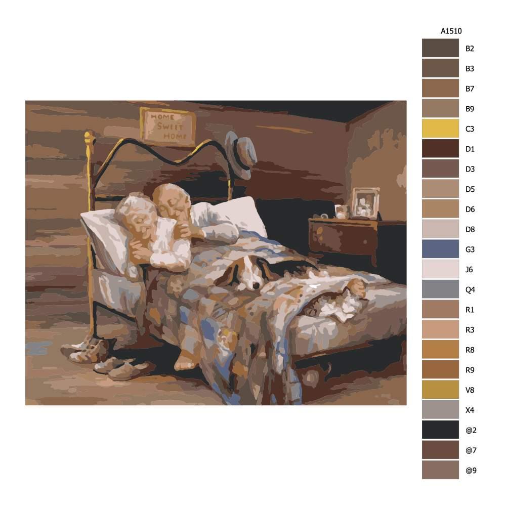 Návod pro malování podle čísel Navždy