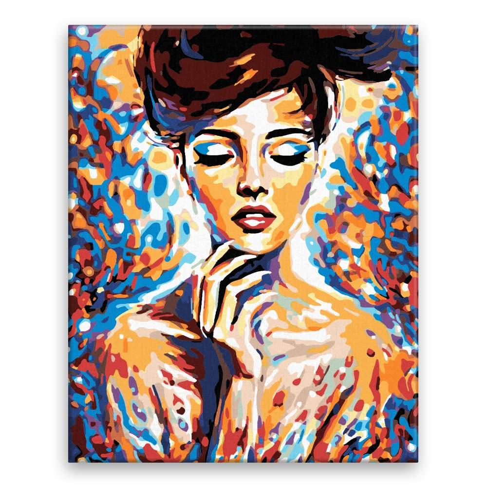 Malování podle čísel V zamyšlení v barvách