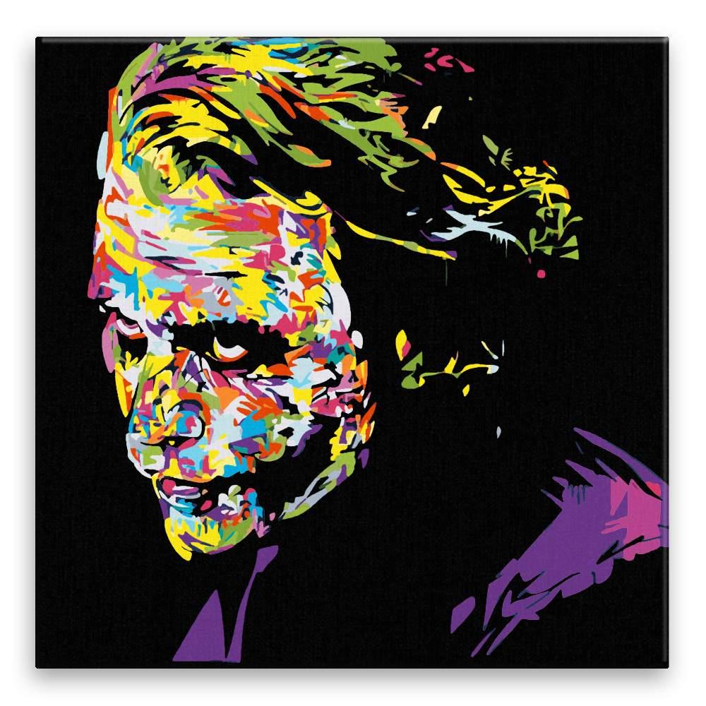 Malování podle čísel Joker v barvách