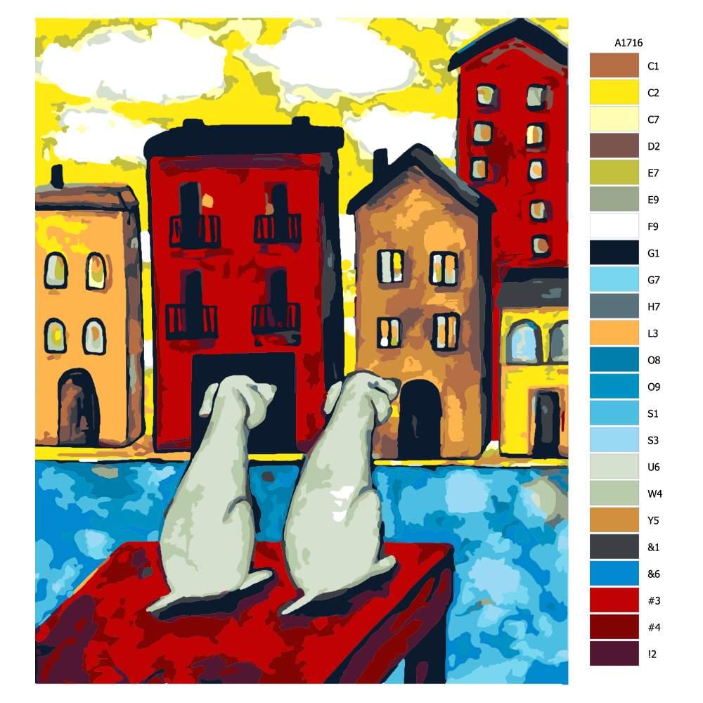 Malování podle čísel Na čekané