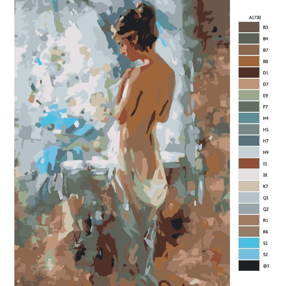 Malování podle čísel Po ránu