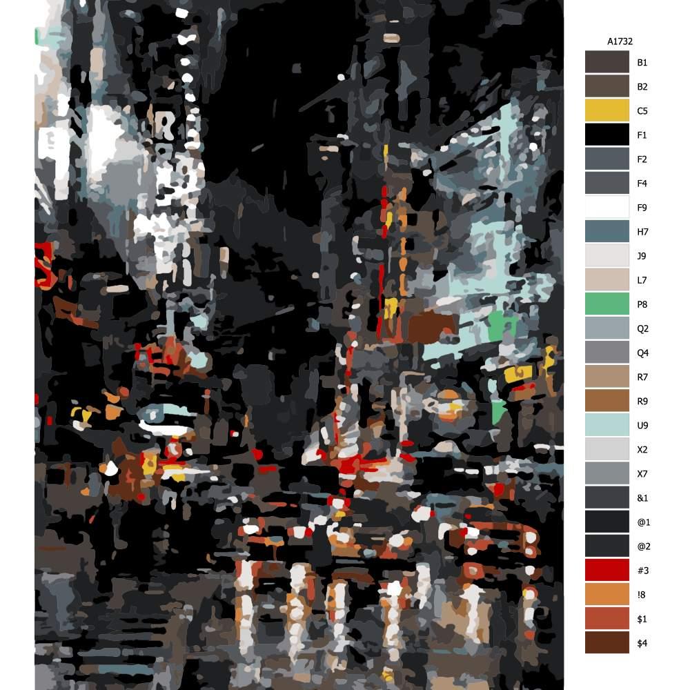 Malování podle čísel New York City