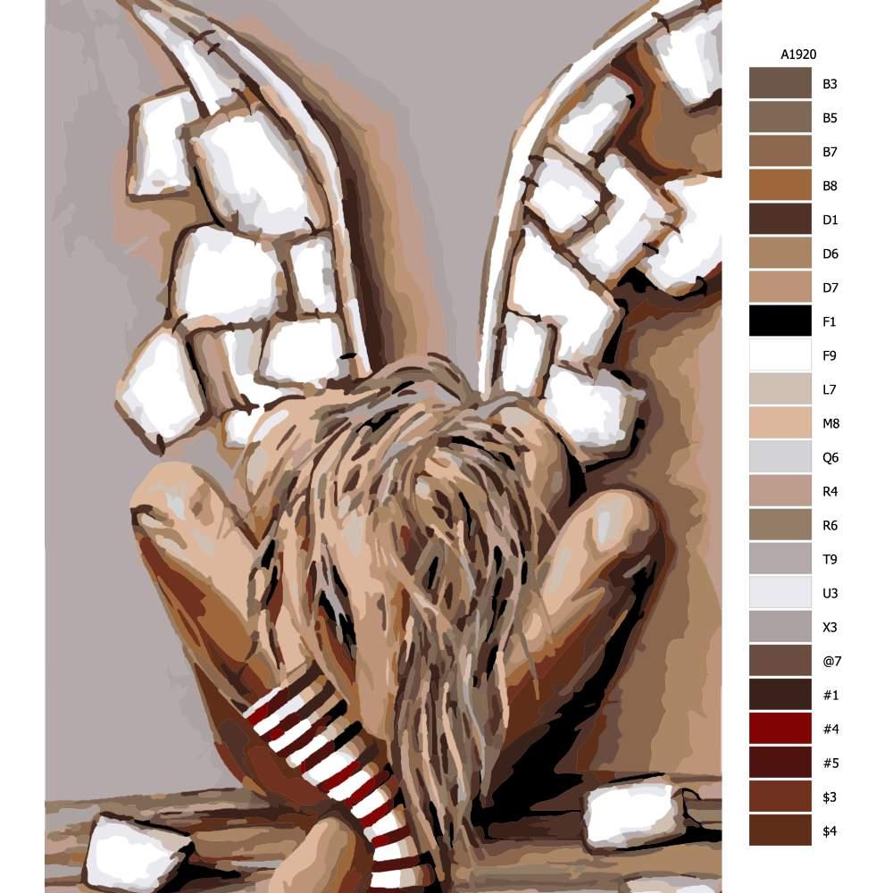 Malování podle čísel Bolest