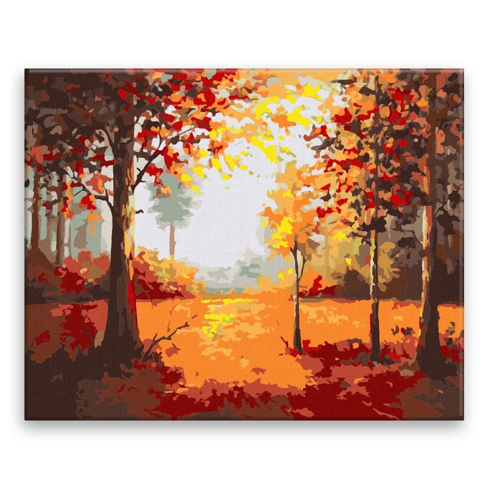 Malování podle čísel V dubovém lese