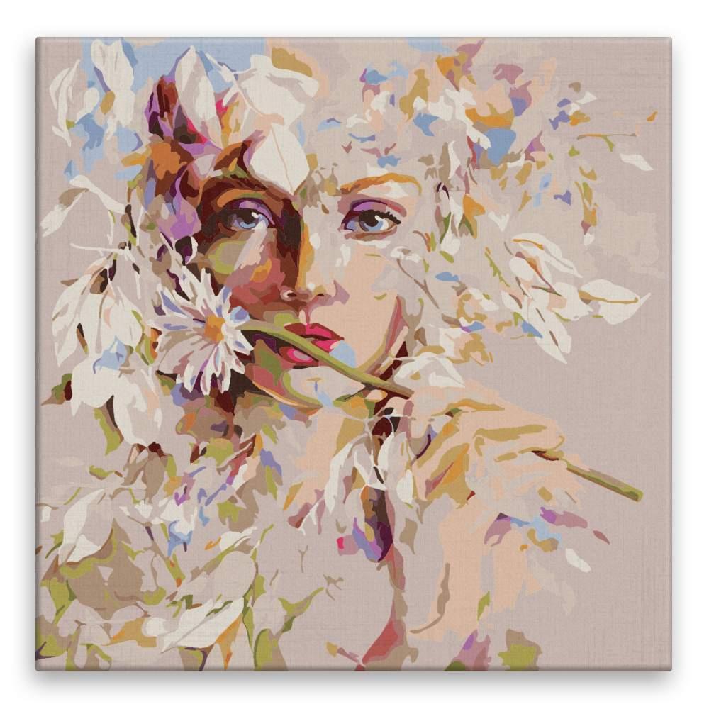 Malování podle čísel Květinová
