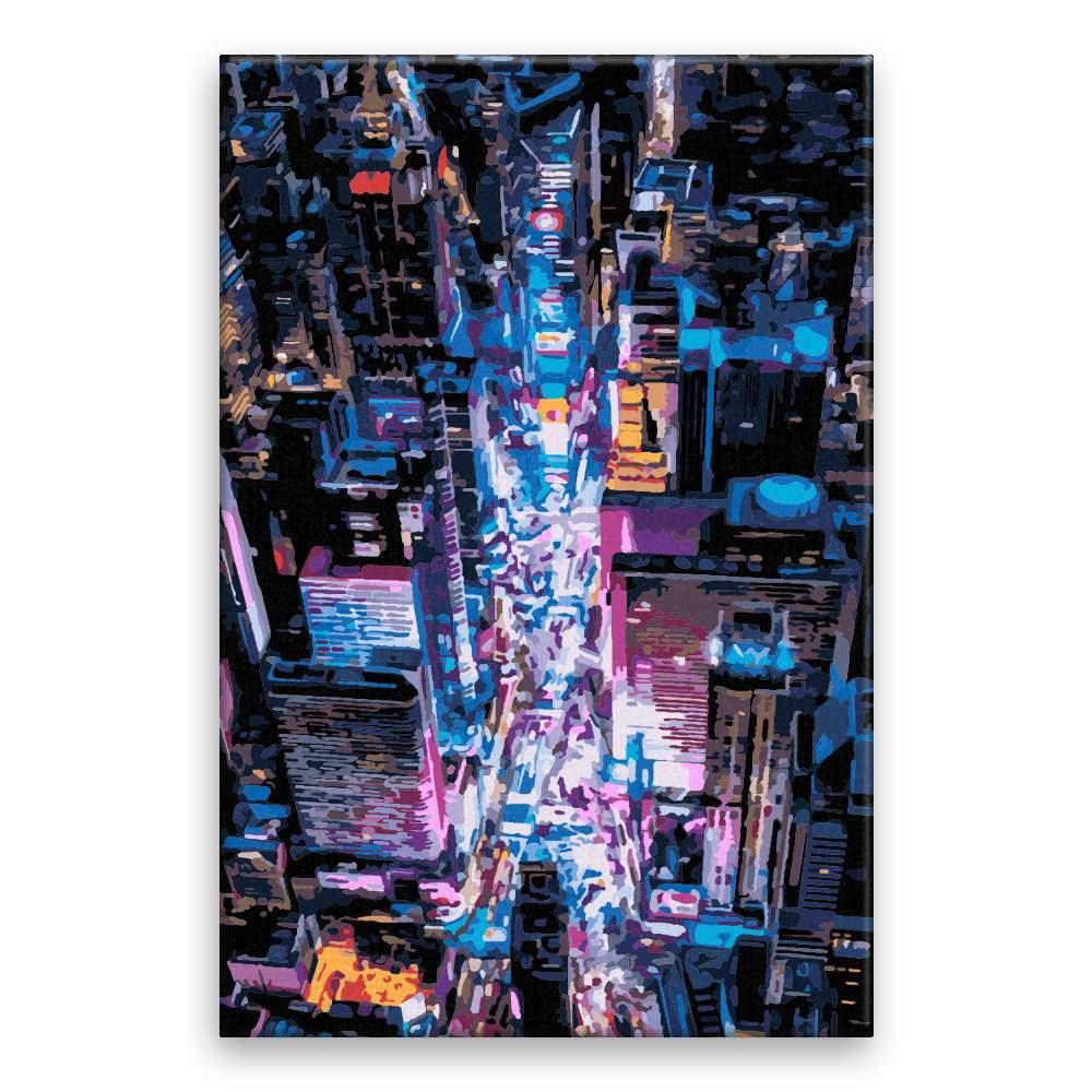 Malování podle čísel Okouzlující město