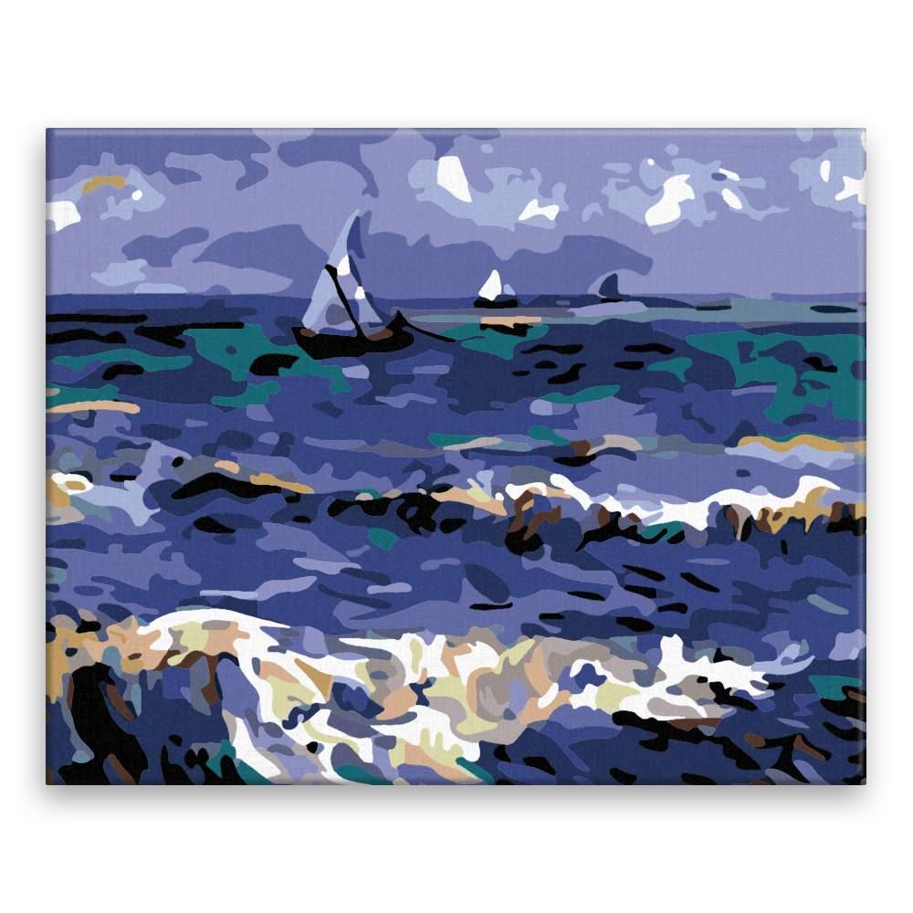 Malování podle čísel Svaty oceán Van Gogh