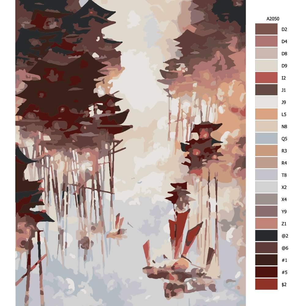 Návod pro malování podle čísel Skyrim