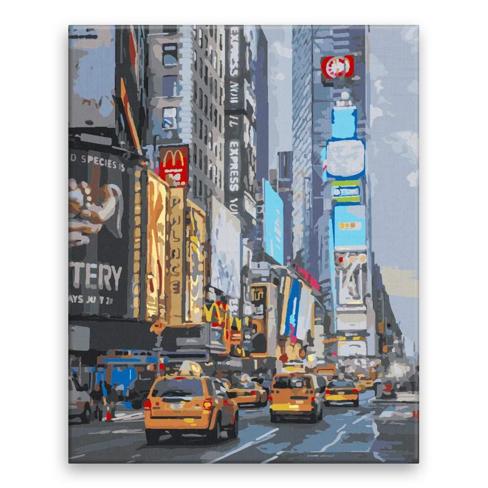 Malování podle čísel Time Square II