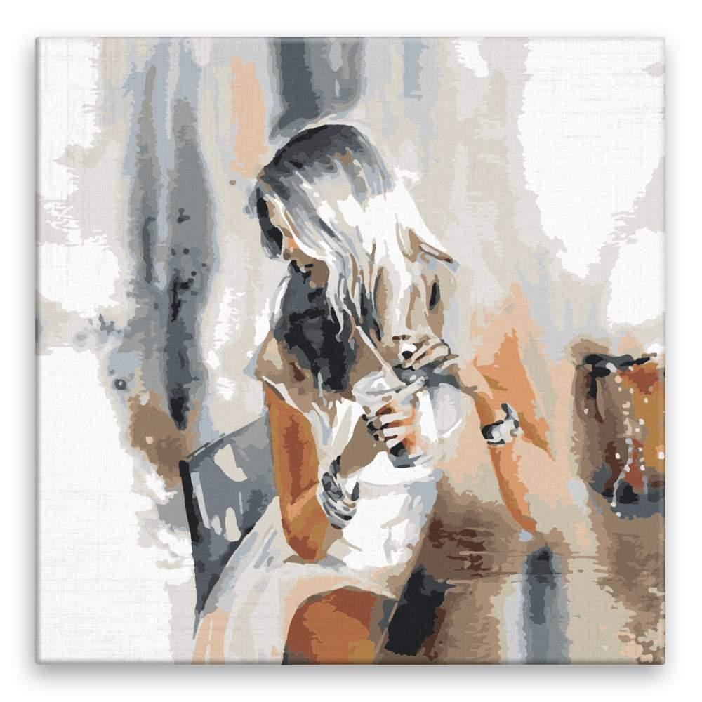 Malování podle čísel S kávou