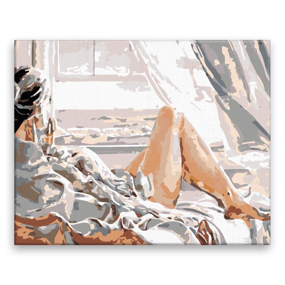 Malování podle čísel Ranní lenošení
