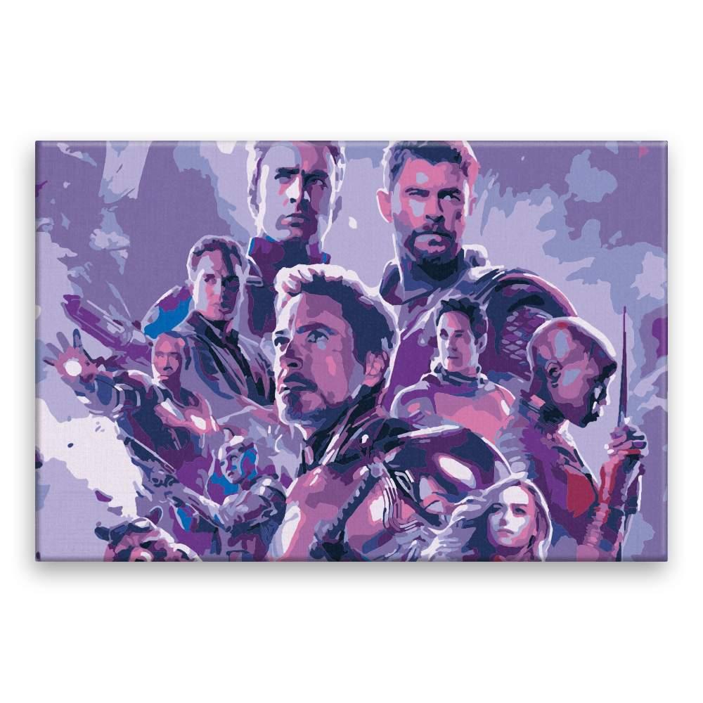 Malování podle čísel Avengers I
