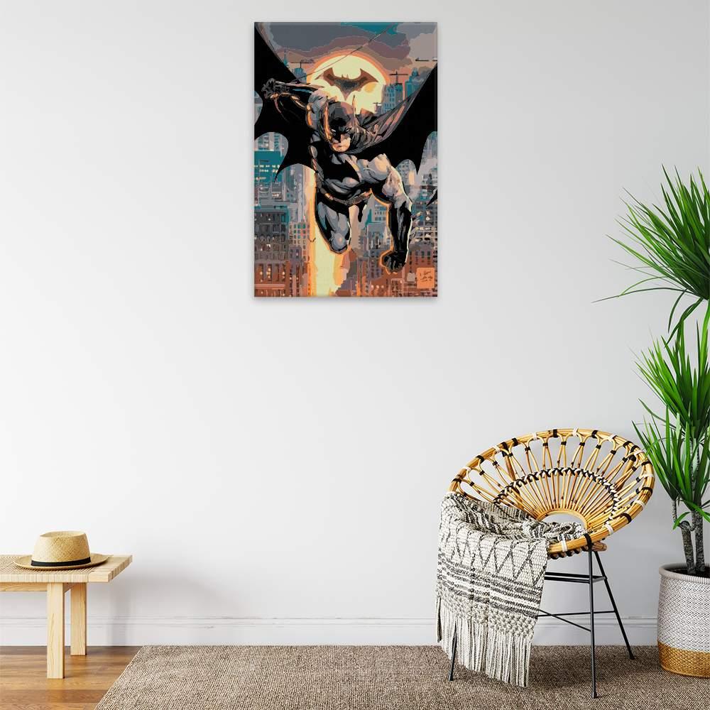 Malování podle čísel Batman 02