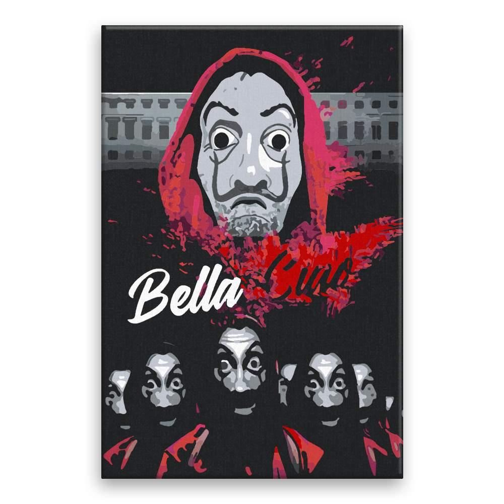 Malování podle čísel Bella Ciao