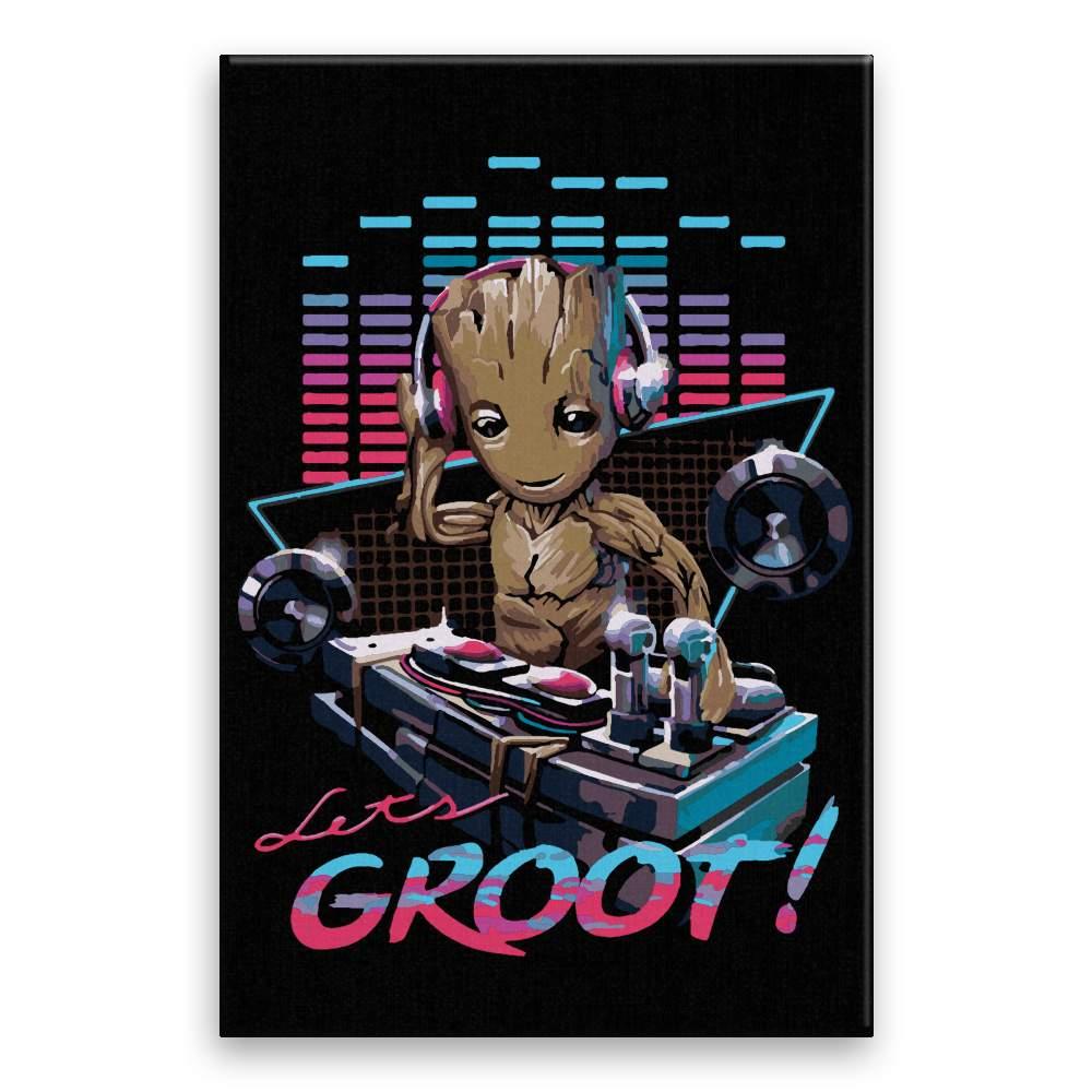 Malování podle čísel Groot DJ