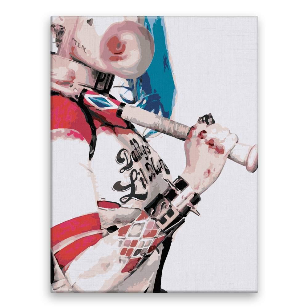 Malování podle čísel Harley Quinn 02