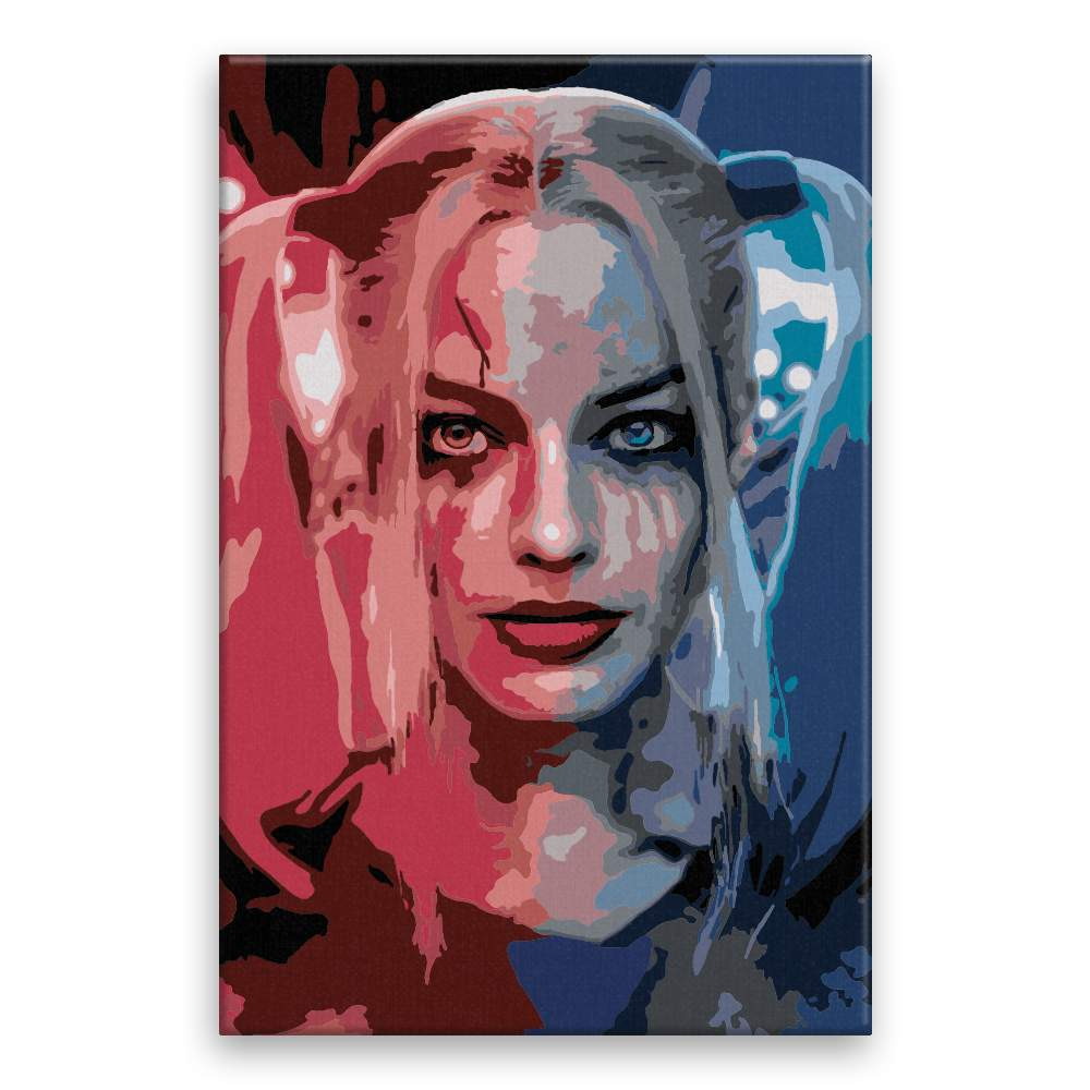 Malování podle čísel Harley Quinn 04