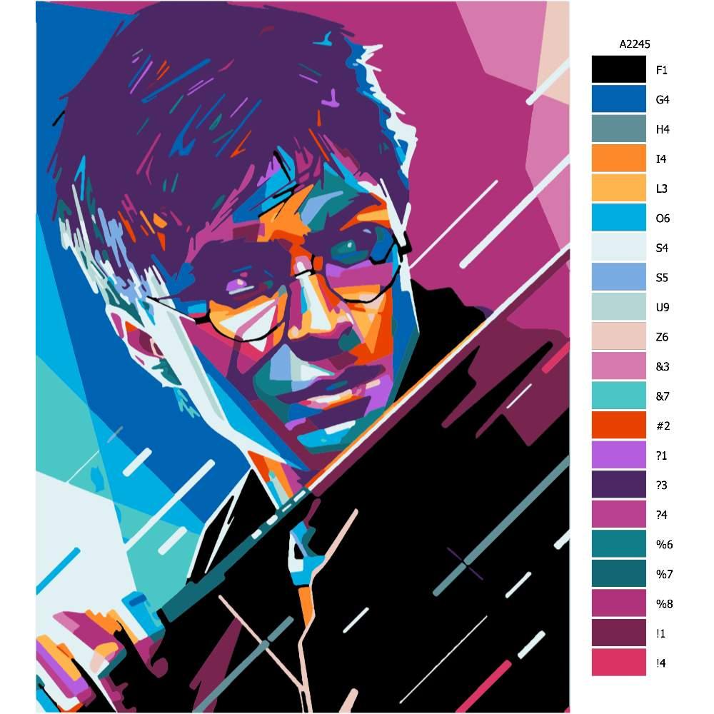 Návod pro malování podle čísel Harry Potter 01