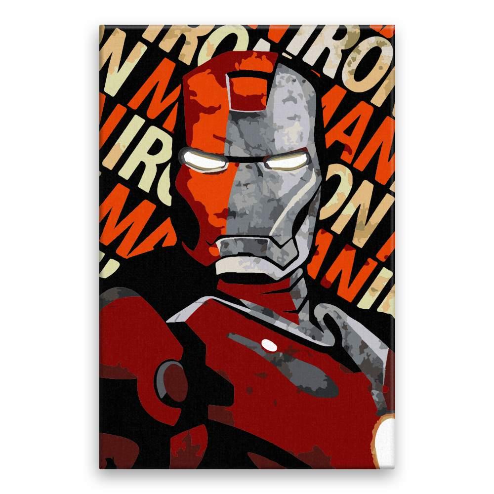 Malování podle čísel Ironman 01