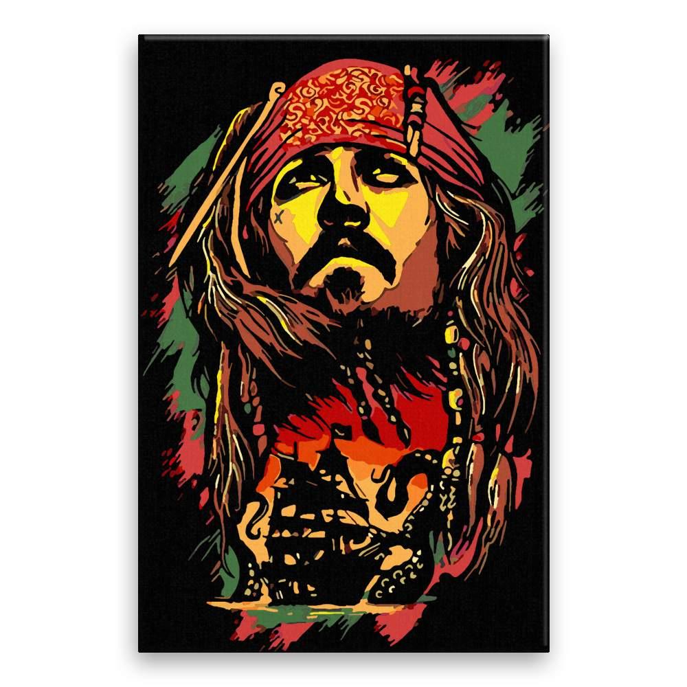 Malování podle čísel Jack Sparrow 03