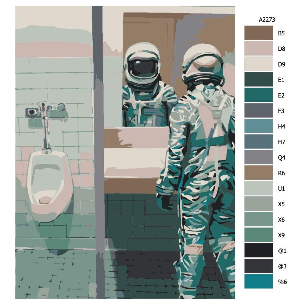 Návod pro malování podle čísel Když musíš