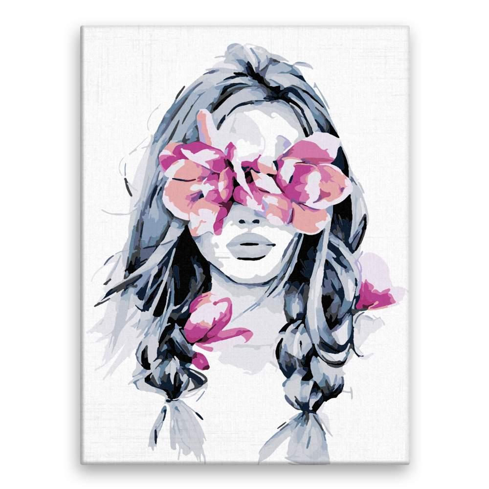 Malování podle čísel Květinový nádech