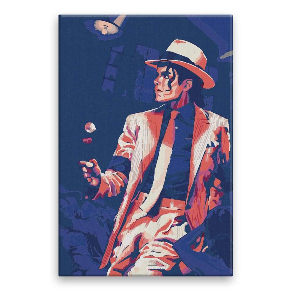 Malování podle čísel Michael Jackson 02