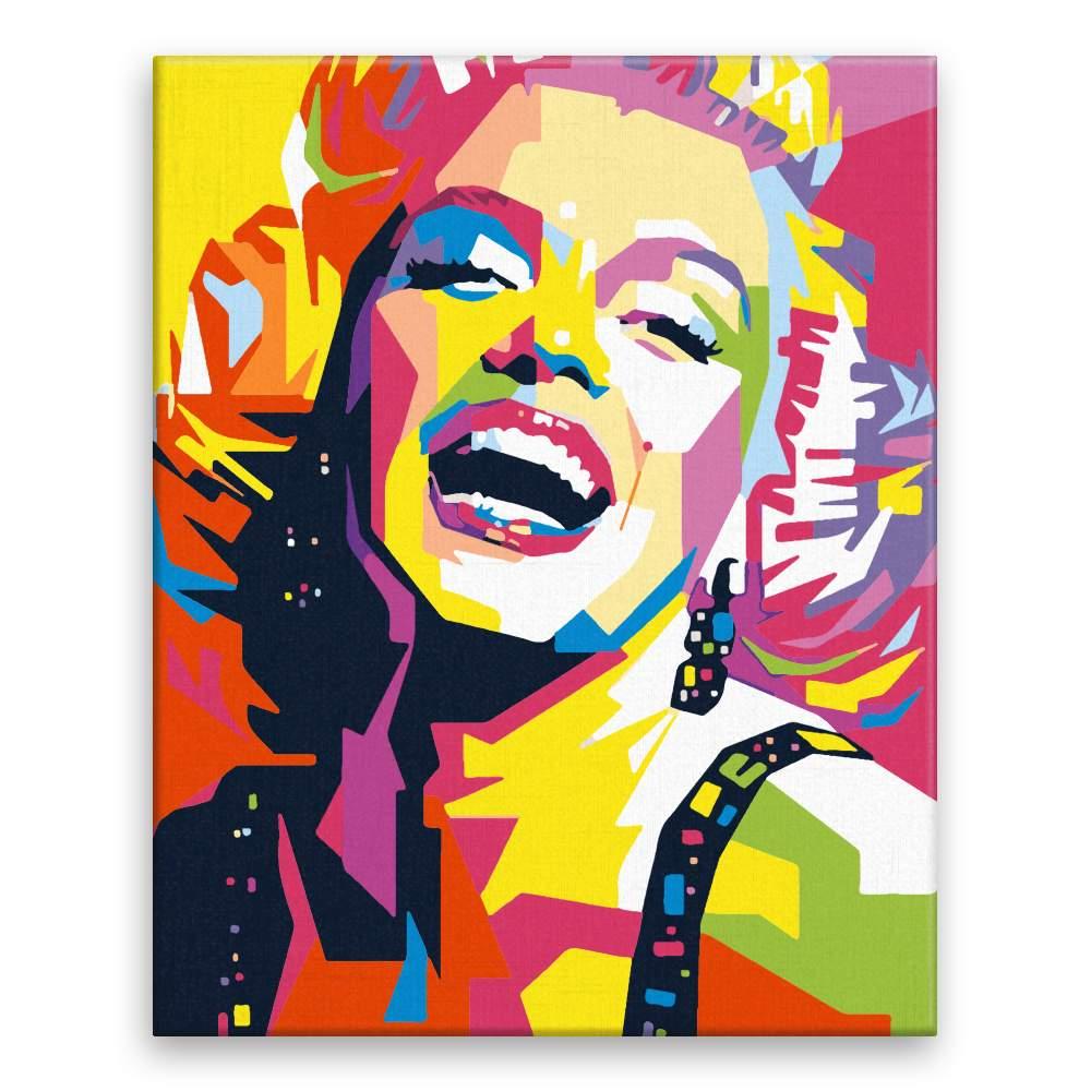 Malování podle čísel Marilyn Monroe 03