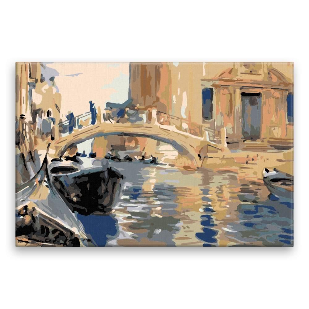 Malování podle čísel Most v Benátkách